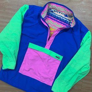 Chubbies Reversible Pastel Pullover XXL Fleece